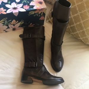 cole haan x nike air tall riding boots